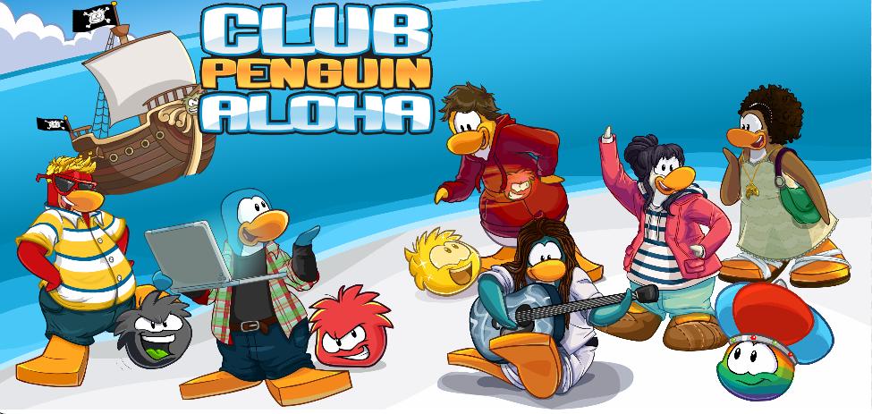 Club Penguin Aloha