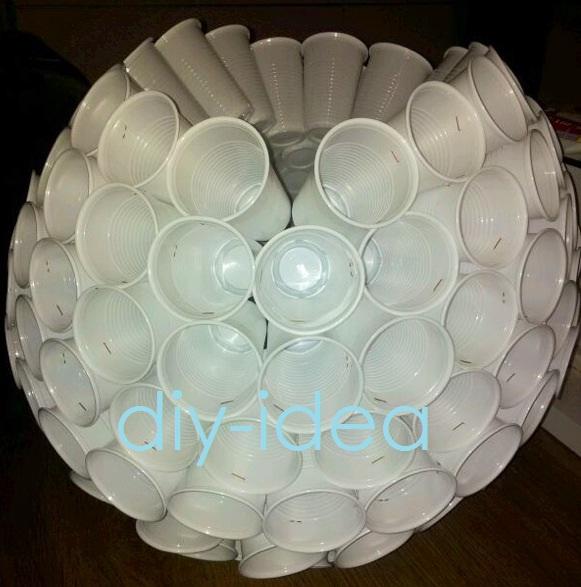 Fotos De Munecos De Nieves Hecho Con Vasos Plasticos Mu