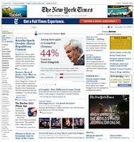 Американская он-лайн газета на английском языке