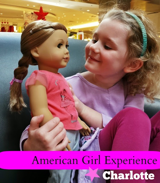 American Girl Doll experience in Charlotte, N.C.