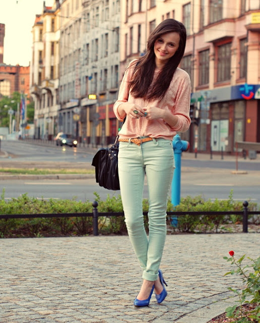 Looks - How to pastel wear colored pants video