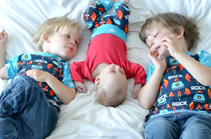 three under four, brothers, young family, matching siblings