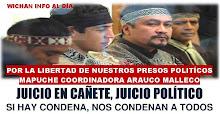 libertad presos políticos mapuche