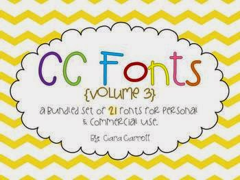 https://www.teacherspayteachers.com/Product/Font-Fun-Volume-3-702400