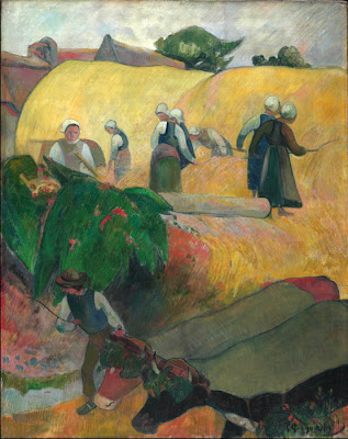 Paul Gauguin - la fenaison,1889