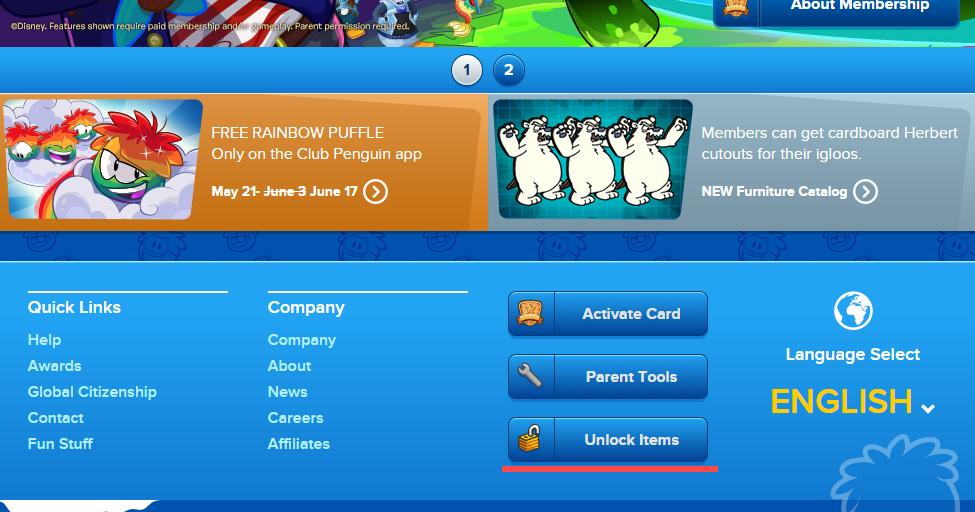 Club penguin coupon code 2018