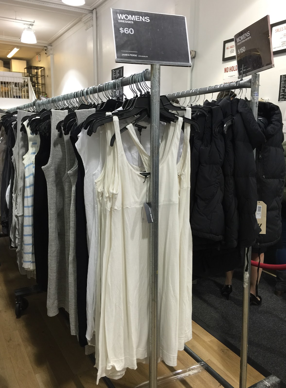 Back To The Basics At James Perse Sample Sale   Practically Haute