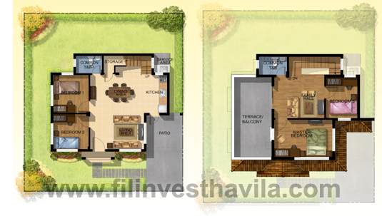 Elisa model house