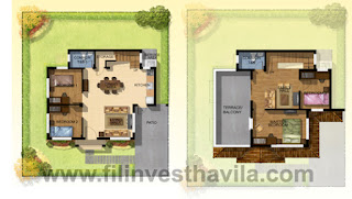 Elisa House Model Floor Plan at Mission Hills Antipolo