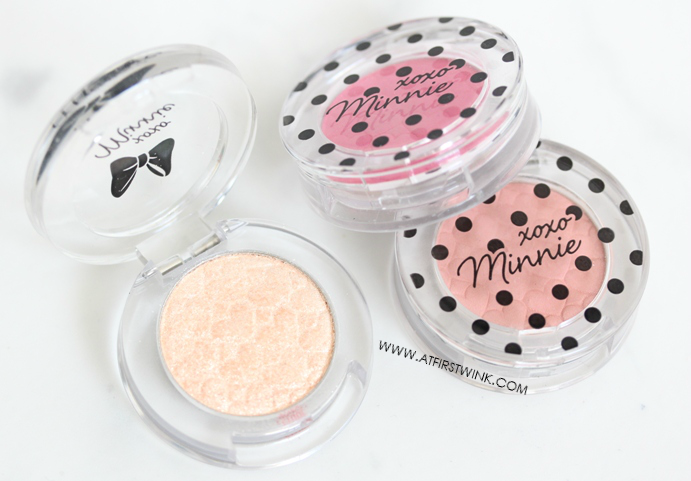 Etude House xoxo Minnie eyeshadows