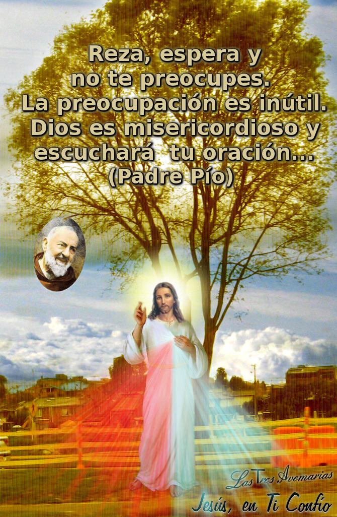 jesus y el padre pio