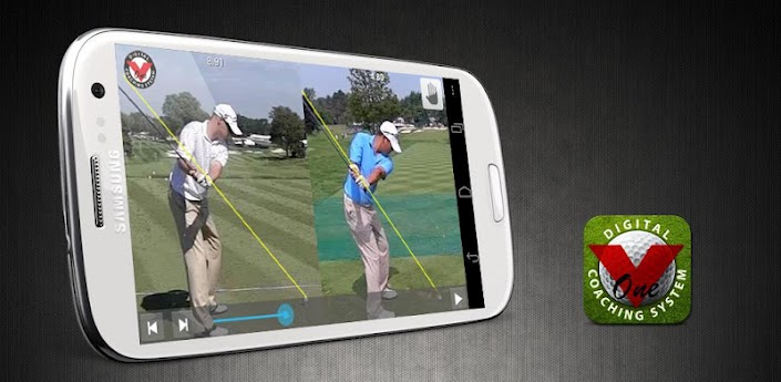 V1 GOLF SWING ANALYSIS APPLICATION for Android Phones and Tablets. Требует