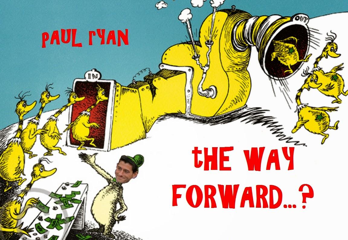 Platitudes from Planet Paul Ryan...