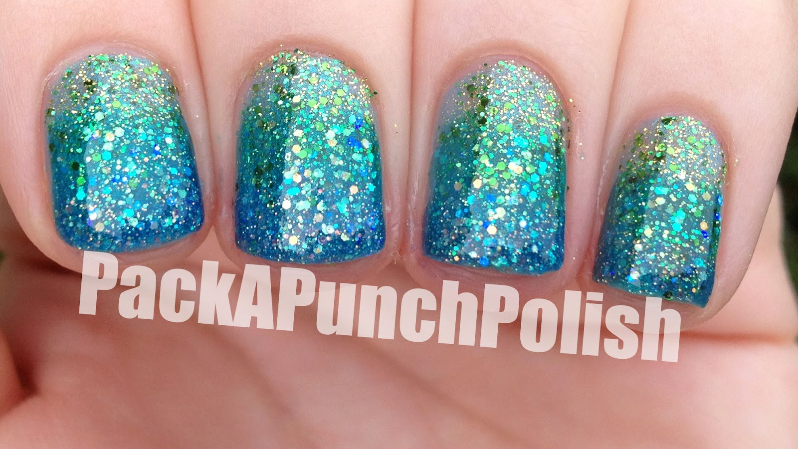 Packapunchpolish glitter gradient nails glitter gradient nails prinsesfo Choice Image