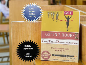 BUY GST E- BOOK @ Rs 150/- (Industry Wise) - Charts, Tables & Diagrams