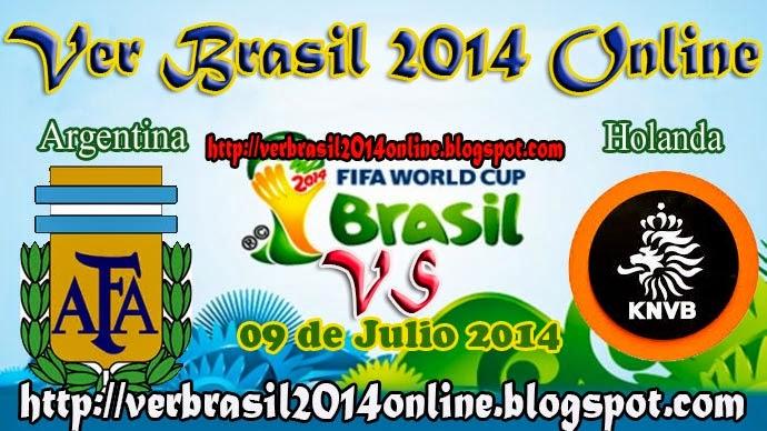 Holanda vs Argentina | SemiFinales - Mundial Brasil 2014 - Miércoles 09 de Julio de 2014