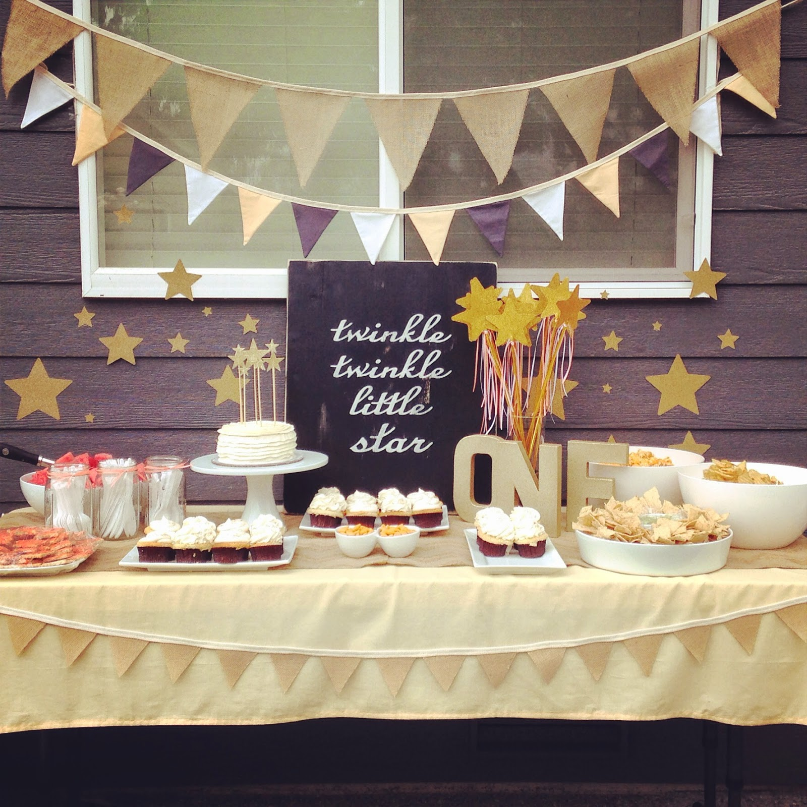 Delicately Sweet Confections Twinkle Twinkle Little Star First Birthday