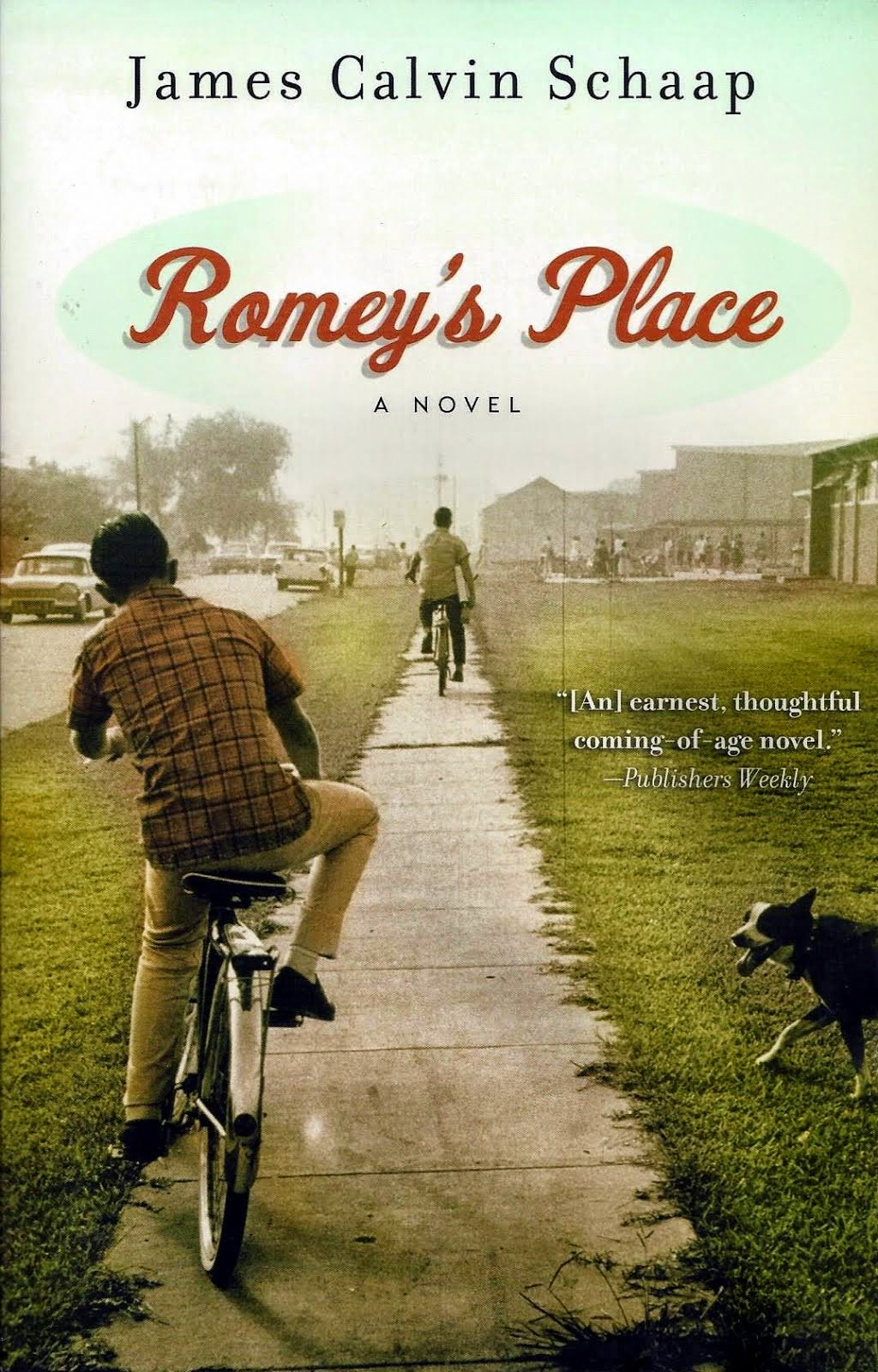 Romey's Place on sale now--