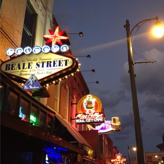 Beale Street, Memphis, Tennessee, on Semi-Charmed Kind of Life