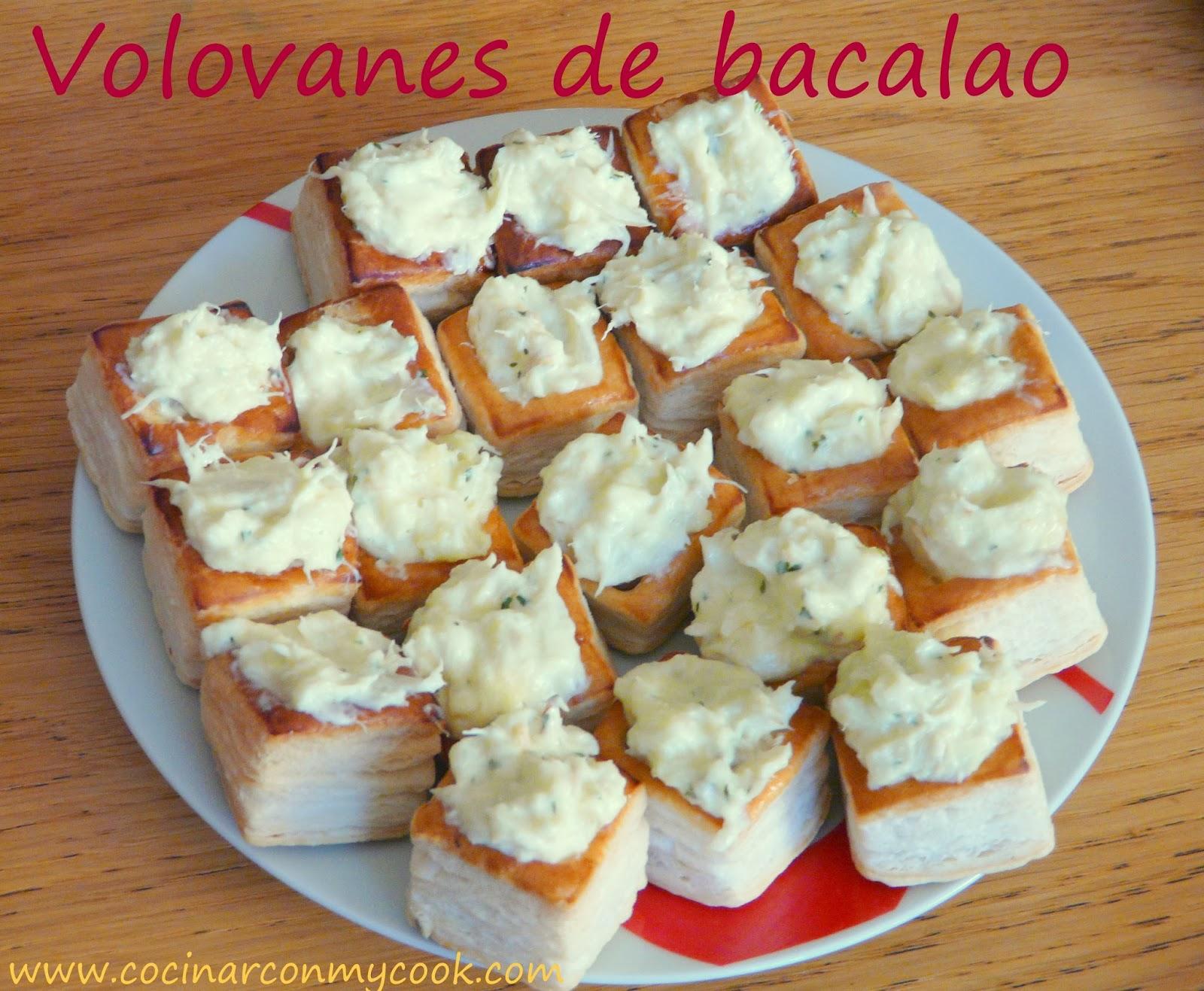 Cocinar con mycook volovanes de bacalao for Cocinar cocochas de bacalao