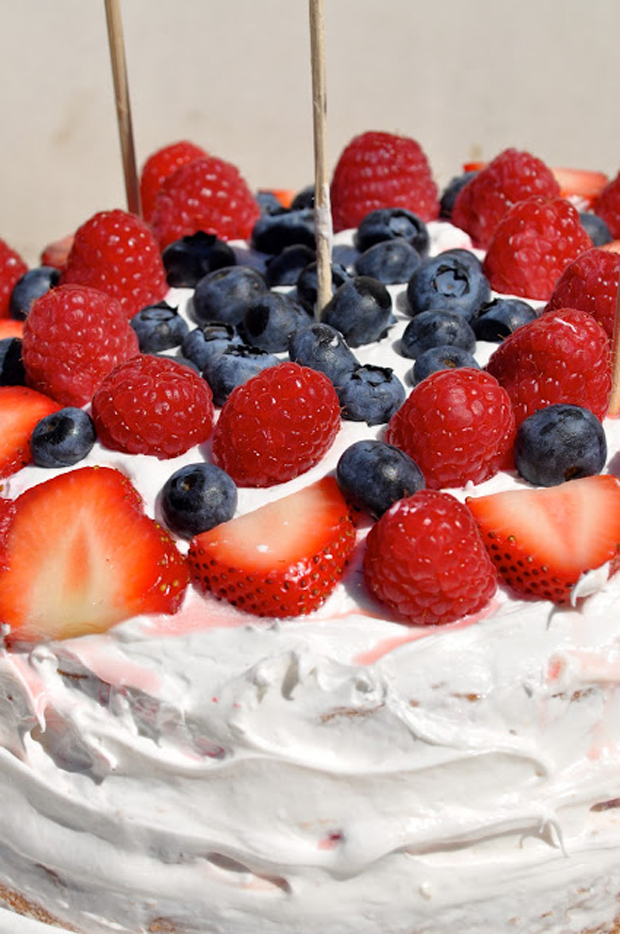 4th of July cake | Kate Uhry photo