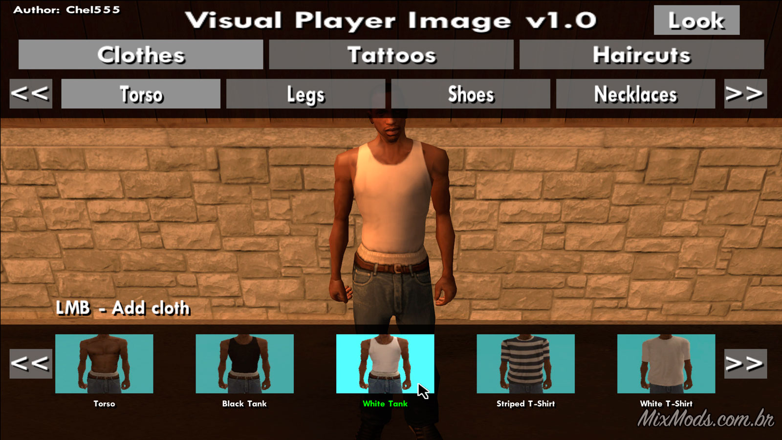 Visual Player Image Mudar Roupas Com Mouse Mixmods Mods Para