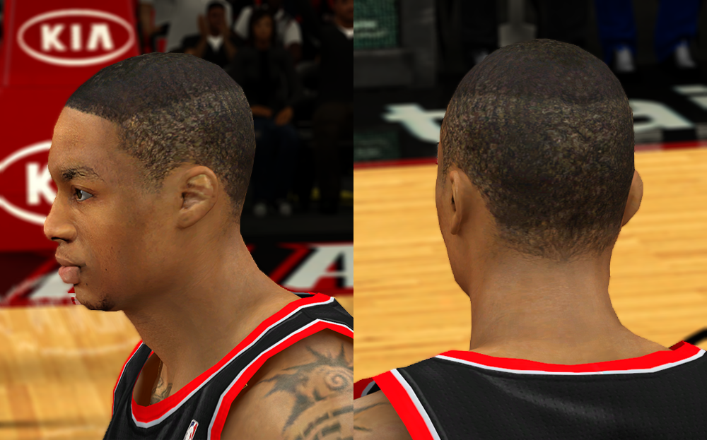 Damian Lillard's Hairstyle | NBA2K