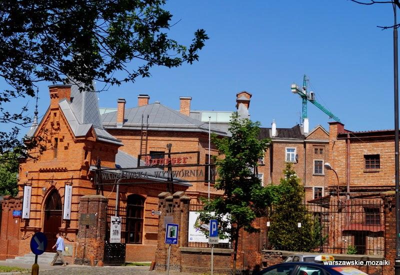 Praga Warszawa fabryka Ząbkowska