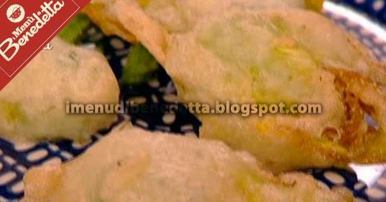 Fiori di zucca fritti veloci la ricetta di benedetta parodi for Mozzarella in carrozza parodi