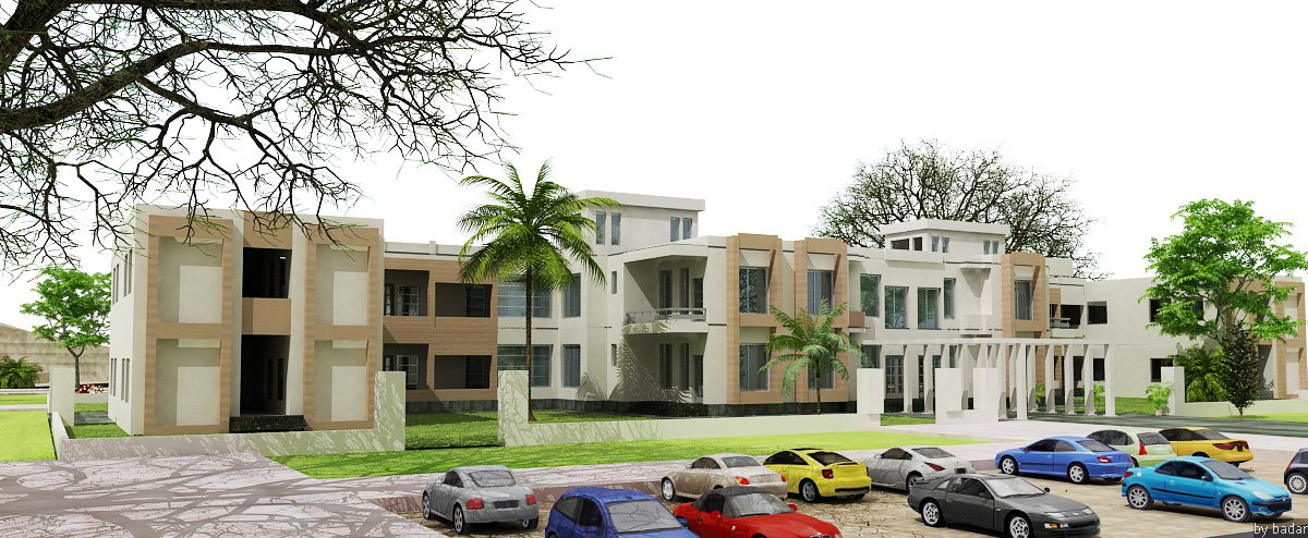 3D Front Elevation Houses