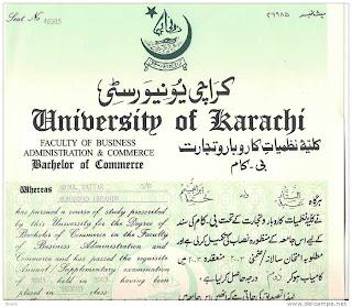 degree attestation  pakistan
