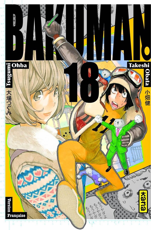 Bakuman tome 18 - Aisance et Enfer chez Kana