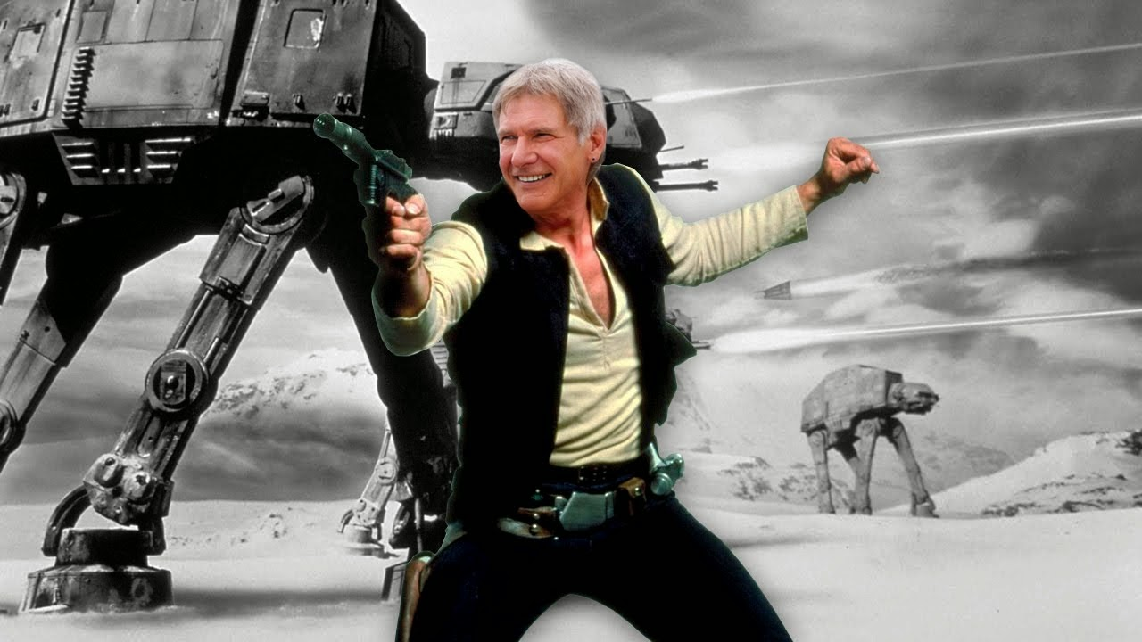 harrison ford returns as han solo on set of star wars episode VII