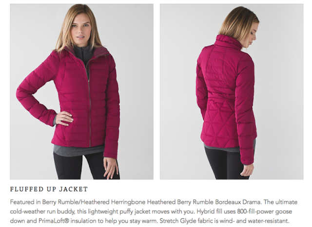 lululemon berry-rumble fluffed-up-jacket
