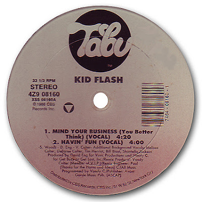 Kid Flash – Mind Your Business (1988, VBR)