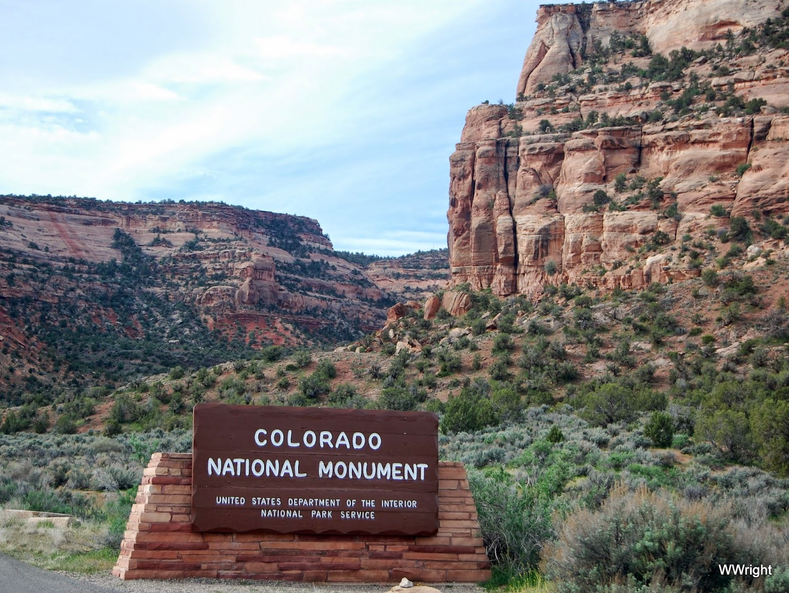 Anywhere USA Colorado National Monument