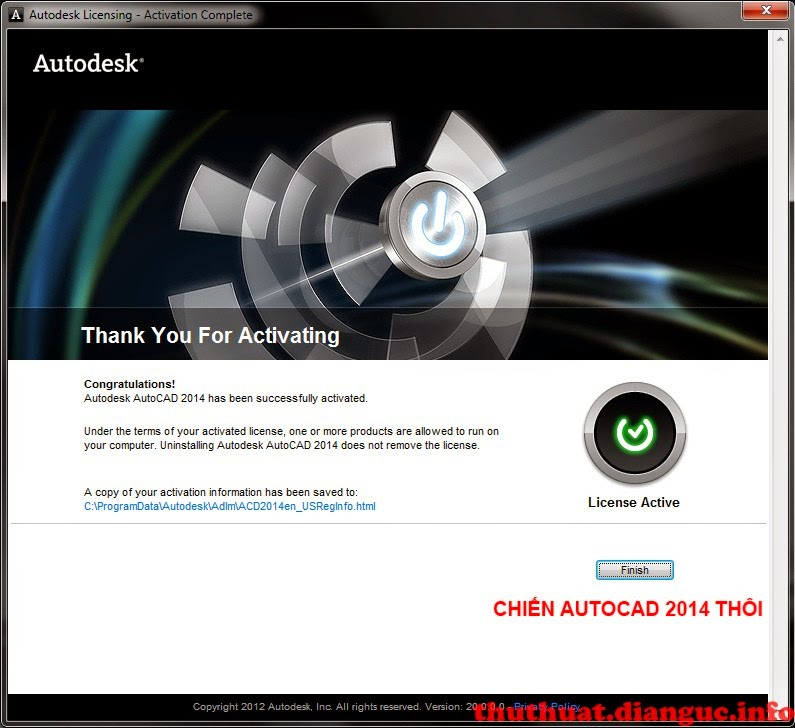 AutoCad 2014 Full Crack
