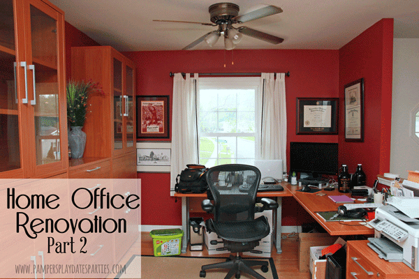 Home Office Renovation Part 2