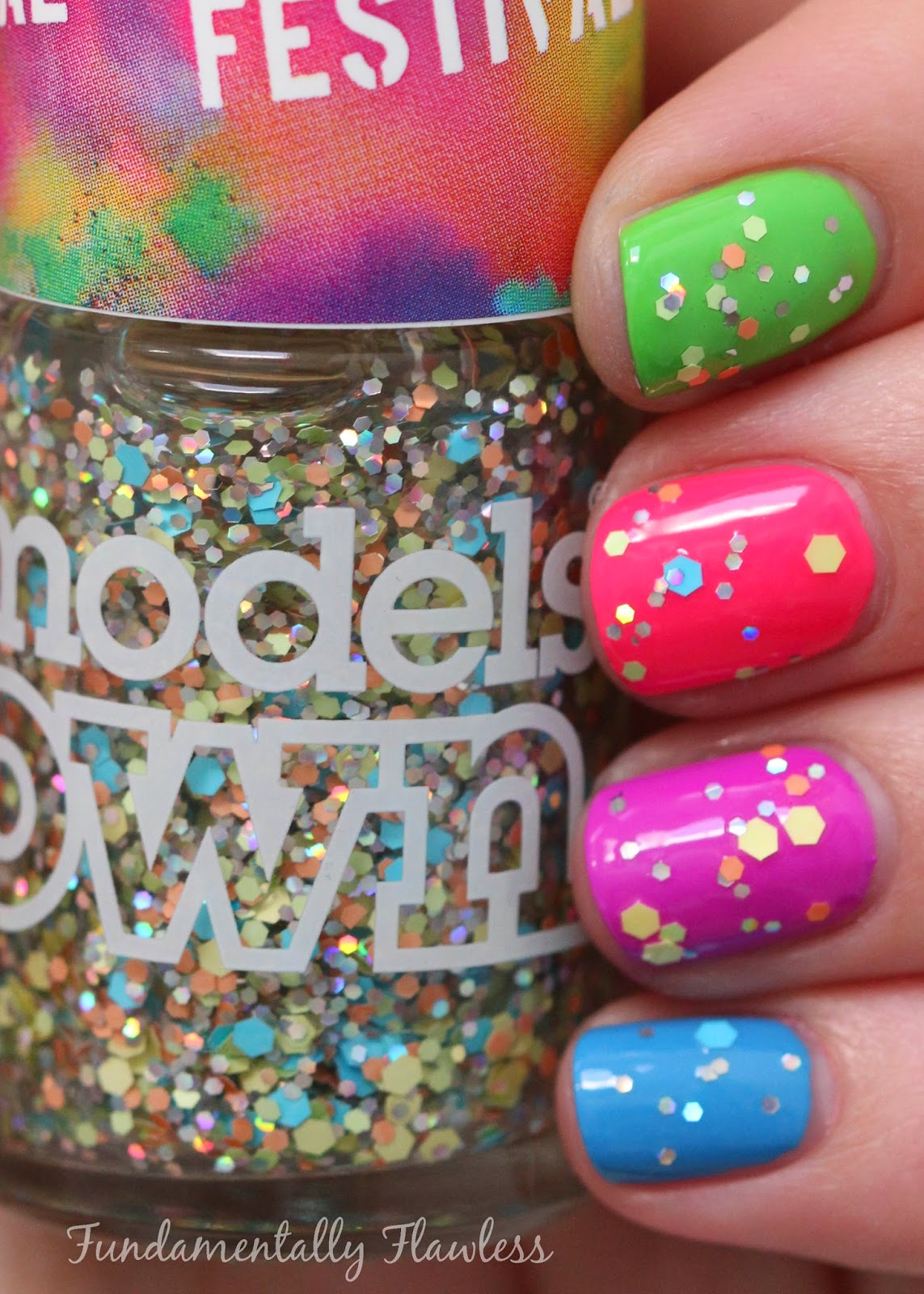 Models Own Festival Collection Colour Explosion swatch