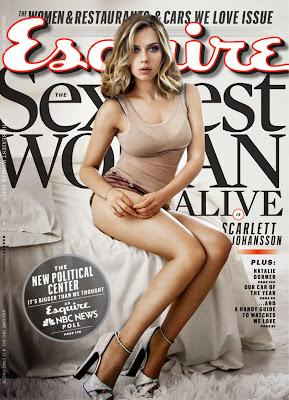 Scarlett Johansson, Esquire, Esquire's Sexiest Woman Alive