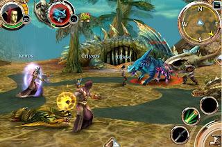 chaos_screen_1 Artworks e Imagens de Order & Chaos Online (Gameloft)