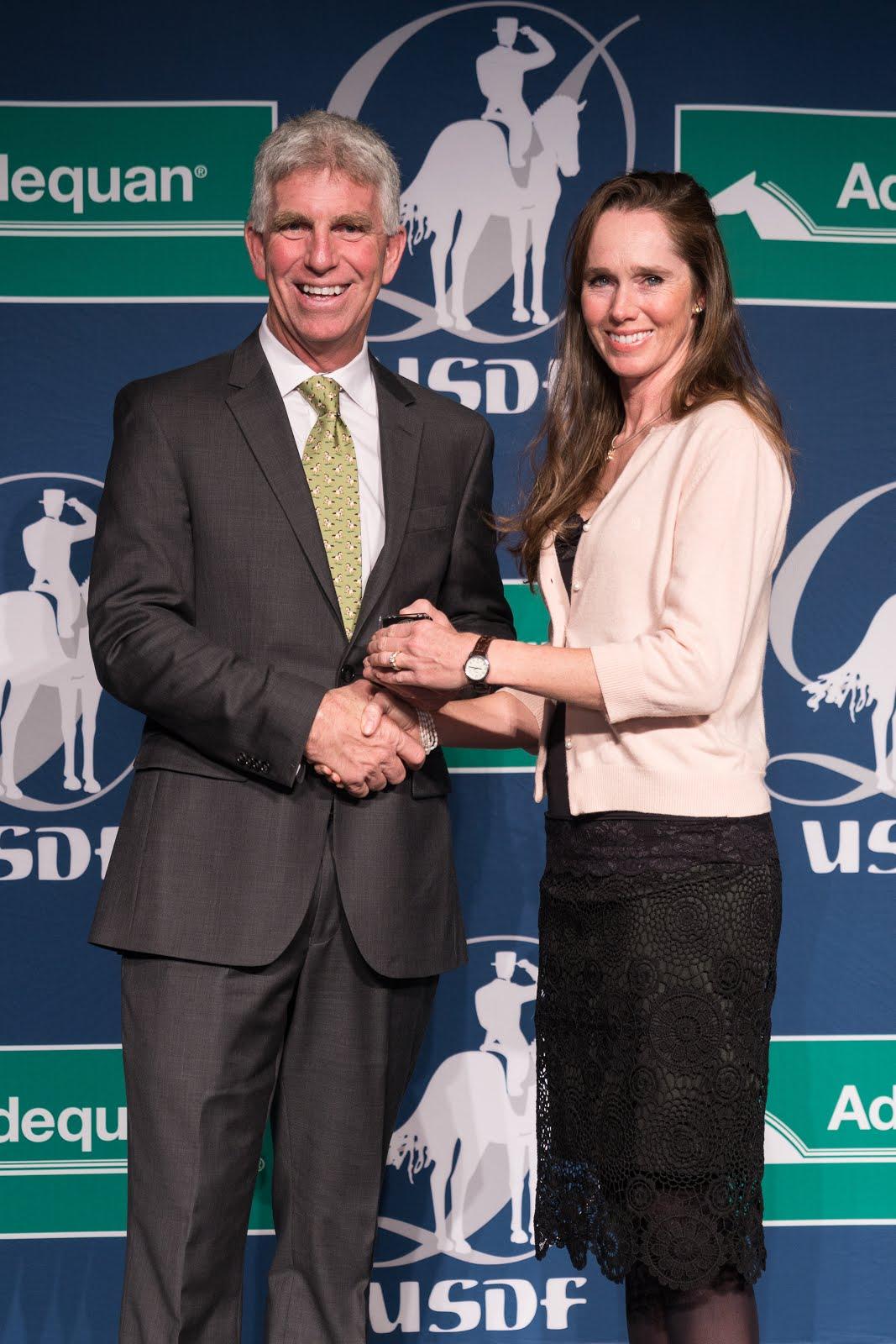 USDF Silver Rider Medal
