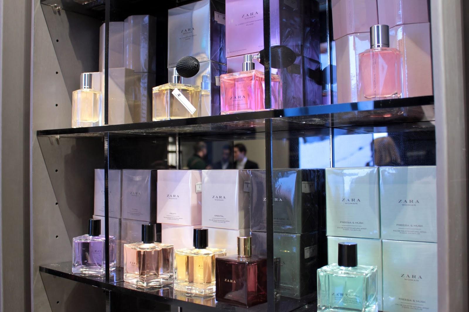 ZARA perfumes
