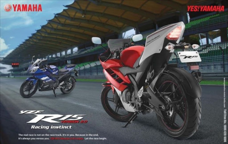 Yamaha R15 New Version 2.0