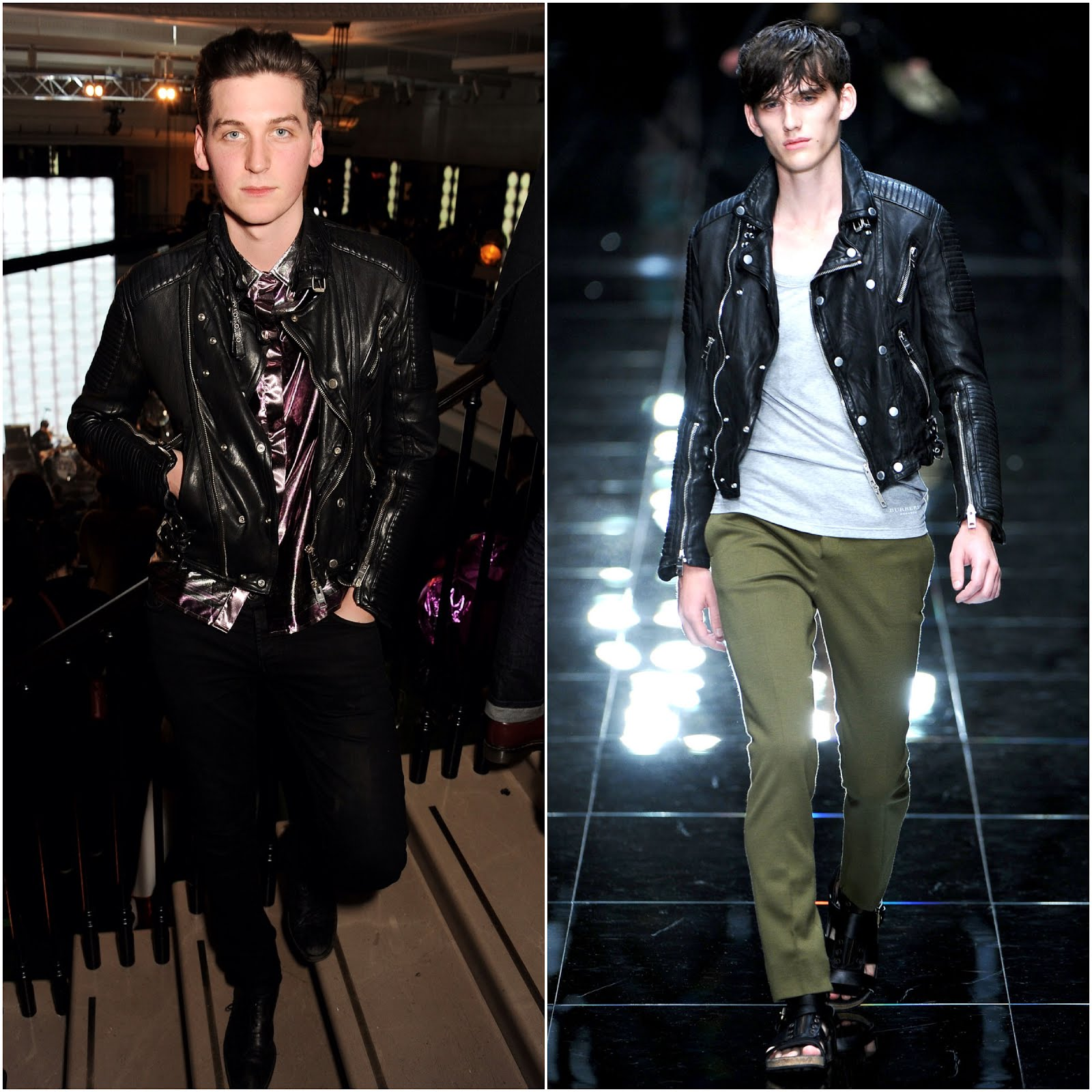 00O00 Menswear Blog George Craig One Night Only in Burberry Prorsum Spring Summer 2011 - Jake Bugg Burberry Acoustic at 121 Regent Street London