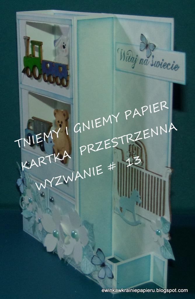 TNIEMY I GNIEMY PAPIER KARTKA PRZESTRZENNA WYZWANIE 13