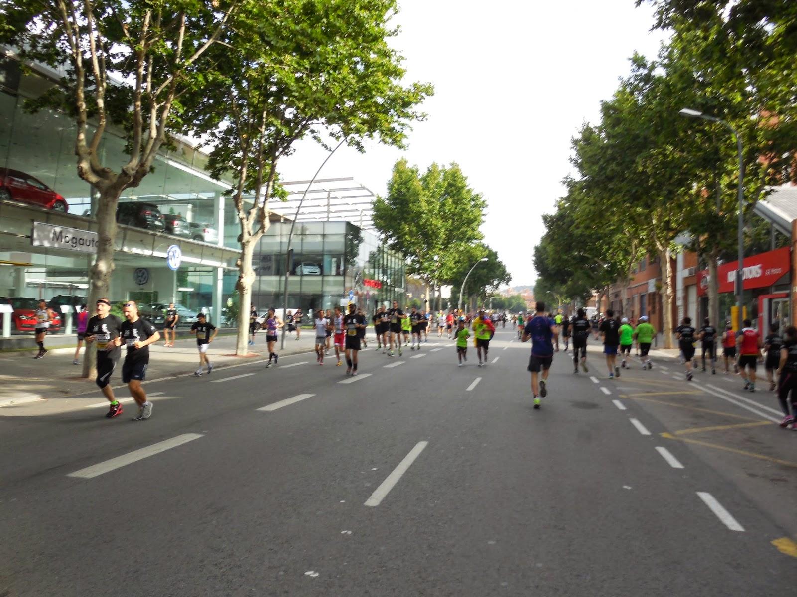 Correr a mis a os 08 06 14 7 cursa la maquinista for La maquinista parking