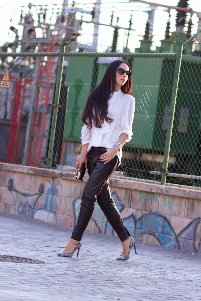 Muubaa Kirin Leather Trousers