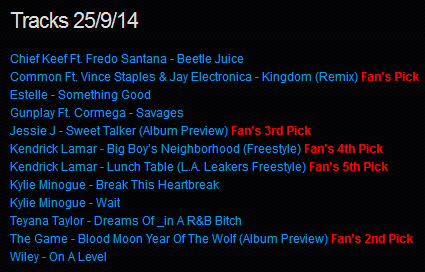 Download [Mp3]-[NEW TRACK RELEASE] เพลงสากลเพราะๆ ออกใหม่มาแรงประจำวันที่ 25 September 2014 [Solidfiles] 4shared By Pleng-mun.com