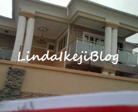 photos of Mercy Johnson's New Home In Ajah -9aijahouse